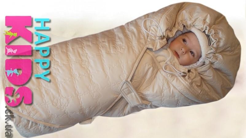 Зимний конверт для новорожденного купить москва